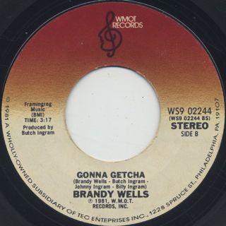 Brandy Wells / When It's Love back