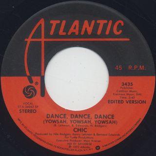 Chic / Dance, Dance, Dance (Yowsah, Yowsah, Yowsah)