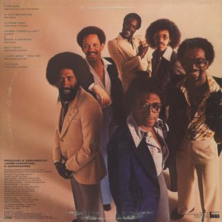 Commodores / Natural High back