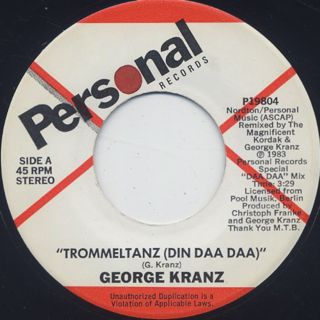 George Kranz / Trommeltanz (Din Daa Daa) (7