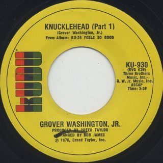 Grover Washington, Jr. / Knucklehead