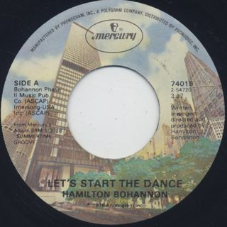 Hamilton Bohannon / Let's Start The Dance (7