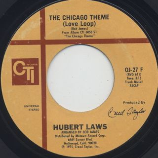Hubert Laws / The Chicago Theme c/w I Had A Dream ②