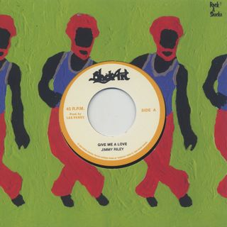 Jimmy Riley / Give Me A Love c/w The Upsetters / Give Me A Dub label