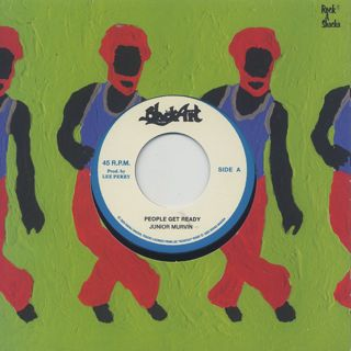 Junior Murvin / People Get Ready c/w The Upsetters / People Get Ready Dub label