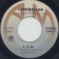 L.T.D. / Love Ballad c/w Let The Music Keep Playing