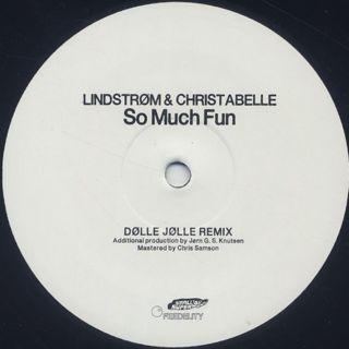 Lindstrøm & Christabelle / Baby Can't Stop back