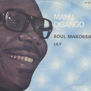 Manu Dibango / Soul Makossa c/w Lily