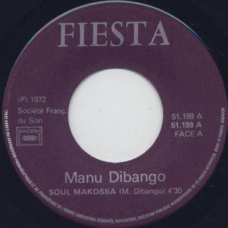 Manu Dibango / Soul Makossa c/w Lily label
