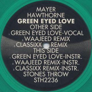 Mayer Hawthorne / Green Eyed Love & Remixes back