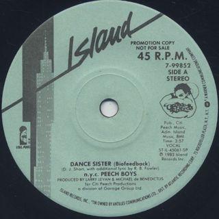 N.Y.C. Peech Boys / Dance Sister (7