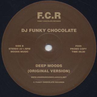 Norma Jean Bell / I'm The Baddest Bitch...(Moodymann Remix) c/w Funky Chocolate / Deep Moods label