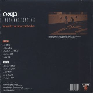 OXP / Swing Convention (Instrumentals) back