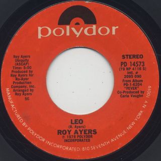 Roy Ayers / Love Will Bring Us Back Together c/w Leo back