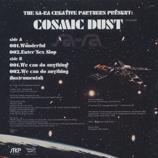 Sa-Ra Creative Partners / Cosmic Dust back