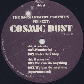 Sa-Ra Creative Partners / Cosmic Dust label