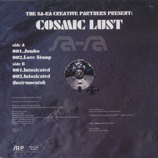 Sa-Ra Creative Partners / Cosmic Lust back