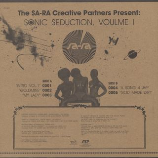 Sa-Ra Ctreative Partners / Sonic Seduction, Volume 1 back