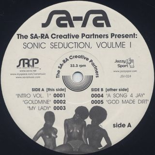 Sa-Ra Ctreative Partners / Sonic Seduction, Volume 1 label