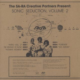 Sa-Ra Ctreative Partners / Sonic Seduction, Volume 2 back