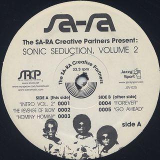 Sa-Ra Ctreative Partners / Sonic Seduction, Volume 2 label