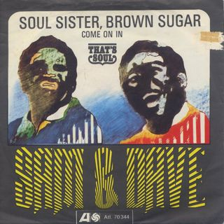 Sam & Dave / Soul Sister, Brown Sugar c/w Come On In front
