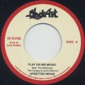 Upsetter Revue / Play On Mr. Music c/w The Silvertones / Rejoice Jah Jah Children (Dub Plate Mix)