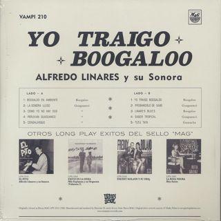 Alfredo Linares Y Su Sonora / Yo Traigo Boogaloo back