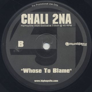 Beatnuts / Hot (Remix) c/w Chali 2na / Whose To Blame back