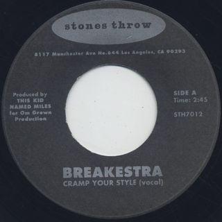 Breakestra / Cramp Your Style (45) ②