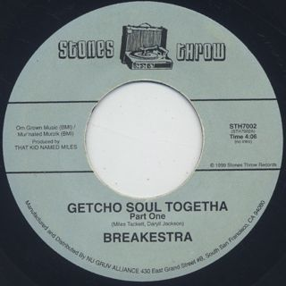 Breakestra ‎/ Getcho Soul Togetha