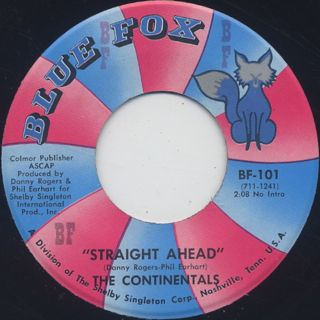 Continentals / Funky Fox c/w Straight Ahead