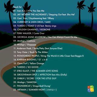 DJ Fox-x / Bass Romance vol.1 back