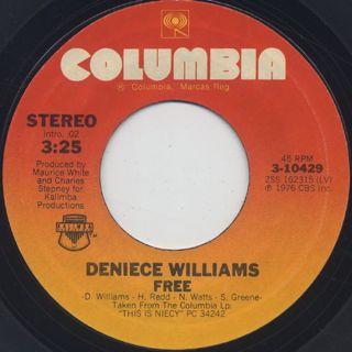 Deniece Williams / Free (7