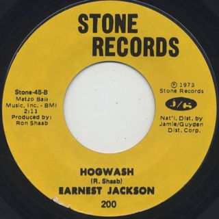 Earnest Jackson / Love And Happiness back