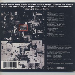 East Of Underground / S.T. (CD) back