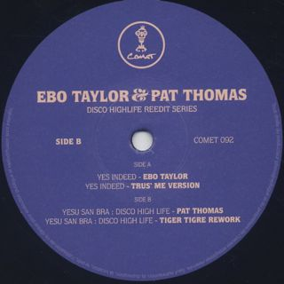 Ebo Taylor & Pat Thomas / Disco Highlife Reedit Series Vol. 3 label