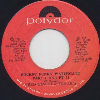 Fred Wesley & The JB's / Rockin' Funky Watergate back
