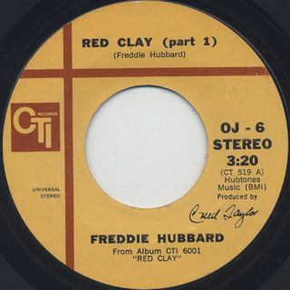 Freddie Hubbard / Red Clay (45)