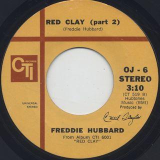 Freddie Hubbard / Red Clay (45) back