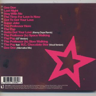 Gary Davis / Chocolate Star The Very Best Of Gary Davis (CD) back