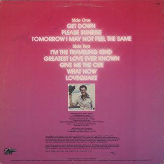Gene Chandler / Get Down back