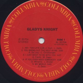 Gladys Knight / S.T. label