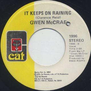 Gwen McCrae / Rockin' Chair (45) back