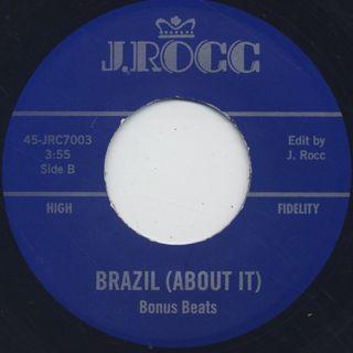 J Rocc / Funky President Edits Vol. 3 - Brazil (About It) label