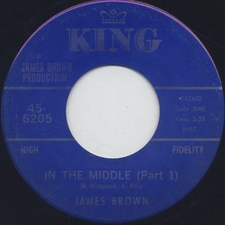 James Brown / In The Middle (Part 1)