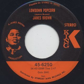 James Brown / Lowdown Popcorn front