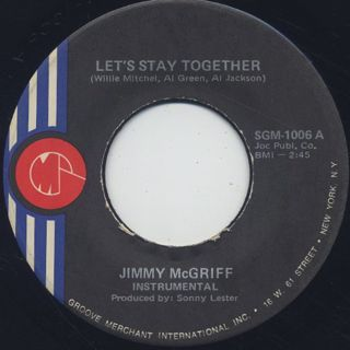 Jimmy McGriff / Let's Stay Together (45)