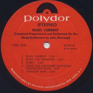 John Murtaugh / Blues Current label