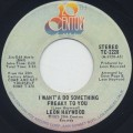 Leon Haywood / I Want'A Do Something Freaky To You-1